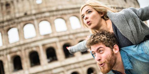 coppia a Roma
