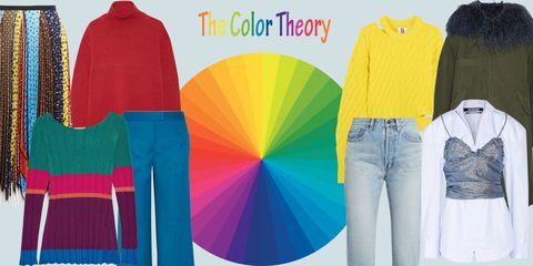 cme abbinare i colori