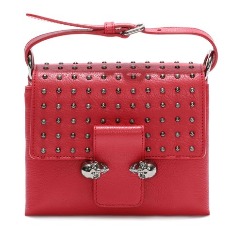 Product, Red, White, Pattern, Bag, Carmine, Technology, Coquelicot, Material property, Design,
