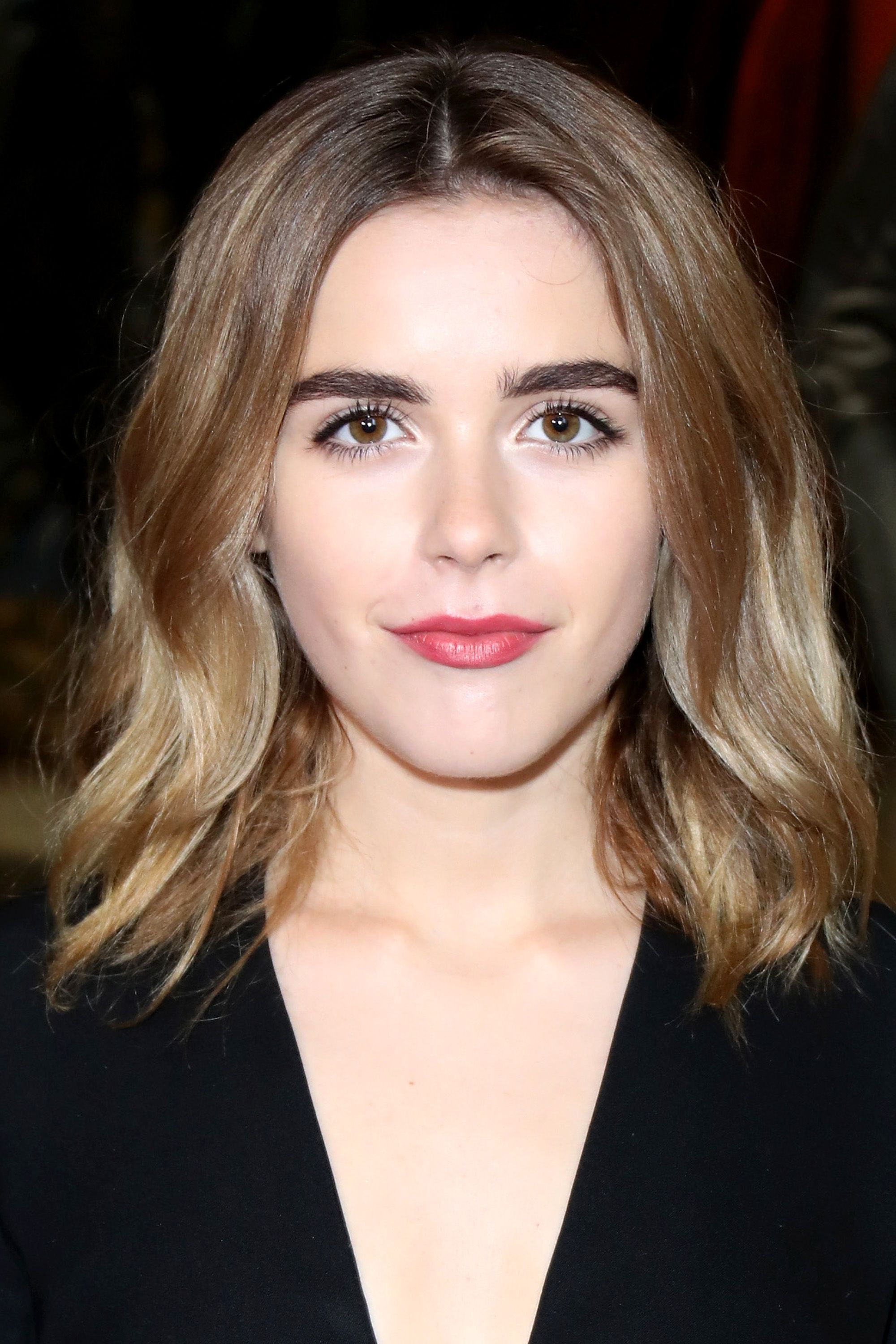 <p>From root to tips, Shipka went for an ashy gradient that compliments her cool-toned complexion. </p>