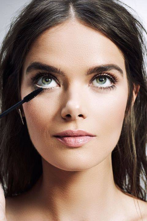 """<p>Make your&nbsp;mascara really pop by going over the undereye area with&nbsp;concealer first. The contrast of dark mascara to brightened skin will frame&nbsp;the entire eye, though product on the lower lash runs the risk of smudging.&nbsp;""""Waterproof mascara is best for avoiding any makeup transferring onto your skin,"""" Anthony explains. Keep the eye-brightening concealer in place by dusting a light layer of powder on top.</p>"""