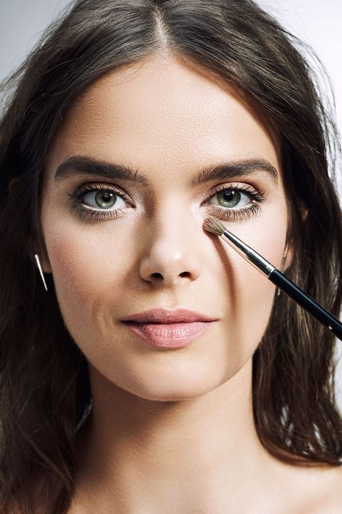 """<p></p><p>Adding a touch of light-reflecting silver or white eye shadow in the inner corner is an old brightening trick, but Anthony had a twist up his sleeve. To up the trick's eye-opening powers, go with two products rather than one. """"I use a chubby pencil in a champagne color and set with a powdered highlighter or a shadow that has some shimmer."""" </p><p><span data-redactor-tag=""""span""""></span> </p>"""