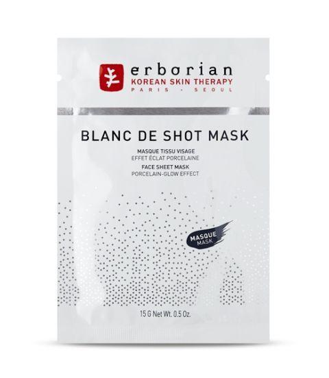 """<p>Perfetta per chi ha iperpigmentazioni: Blanc de Shot Mask di Erborian è arricchita con&nbsp;Paeonia albiflora, nota per le sue proprietà schiarenti<span class=""""redactor-invisible-space""""> (da Sephora).</span></p>"""