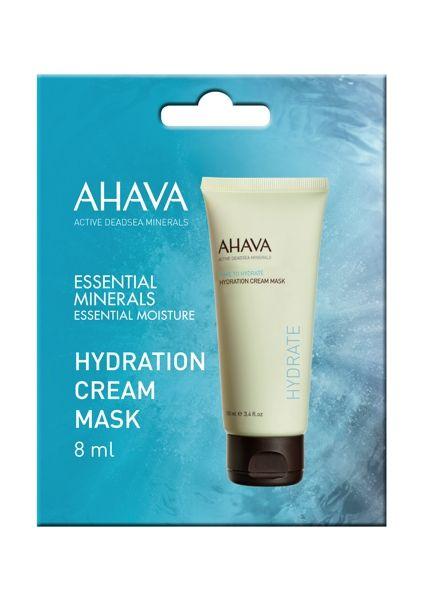 """<p>Perfetta perché monodose (può essere portata in borsa) e usata ogni volta che si sente la pelle """"tirare"""". Hydration Cream Mask Ahava è l'ideale per dissetare la pelle ad esempio, dopo un lungo volo in aereo.</p>"""