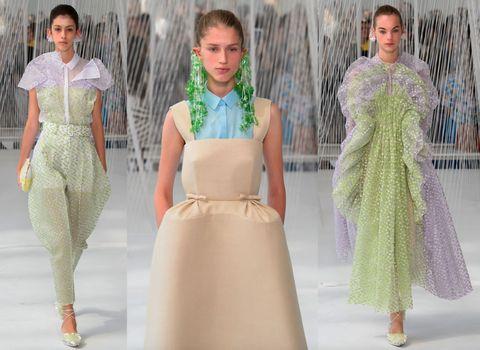 tendenza moda verde greenery