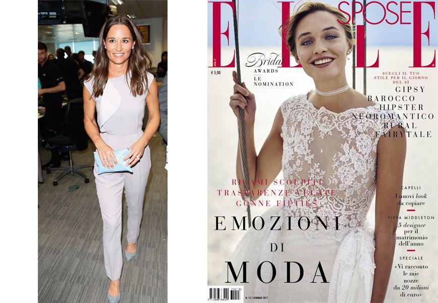 5 abiti da sposa per Pippa Middleton su Elle Spose