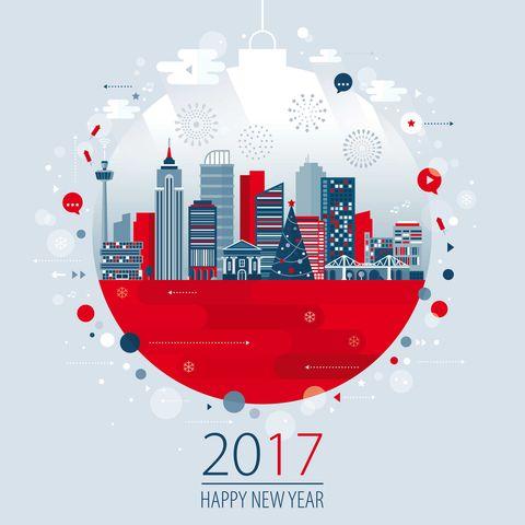 Cartoline di auguri di buon anno