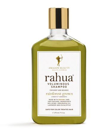 <p>Organico al 100% Rahua Voluminous Shampoo contiene eucalipto e lavanda che infondono calma. E lo shampoo diventa un'esperienza di relax.</p>