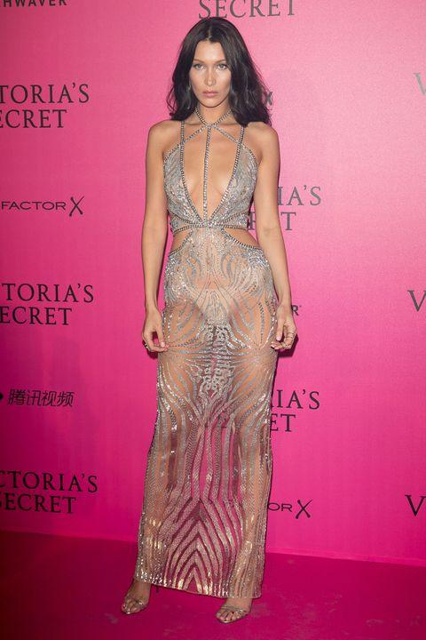 Human, Pink, Magenta, Style, Fashion model, Fashion, Waist, Long hair, Model, One-piece garment,