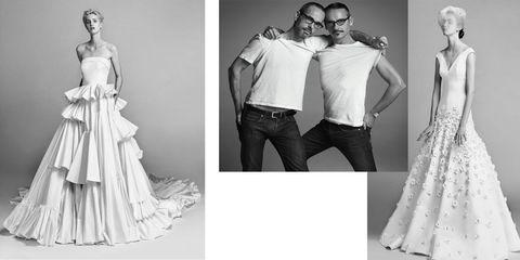 b811aa96fe00 La collezione di abiti da sposa di Viktor   Rolf