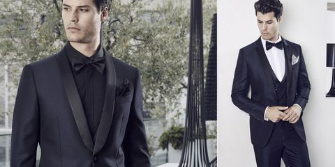 Clothing, Coat, Hairstyle, Collar, Dress shirt, Sleeve, Trousers, Outerwear, Formal wear, Facial hair,