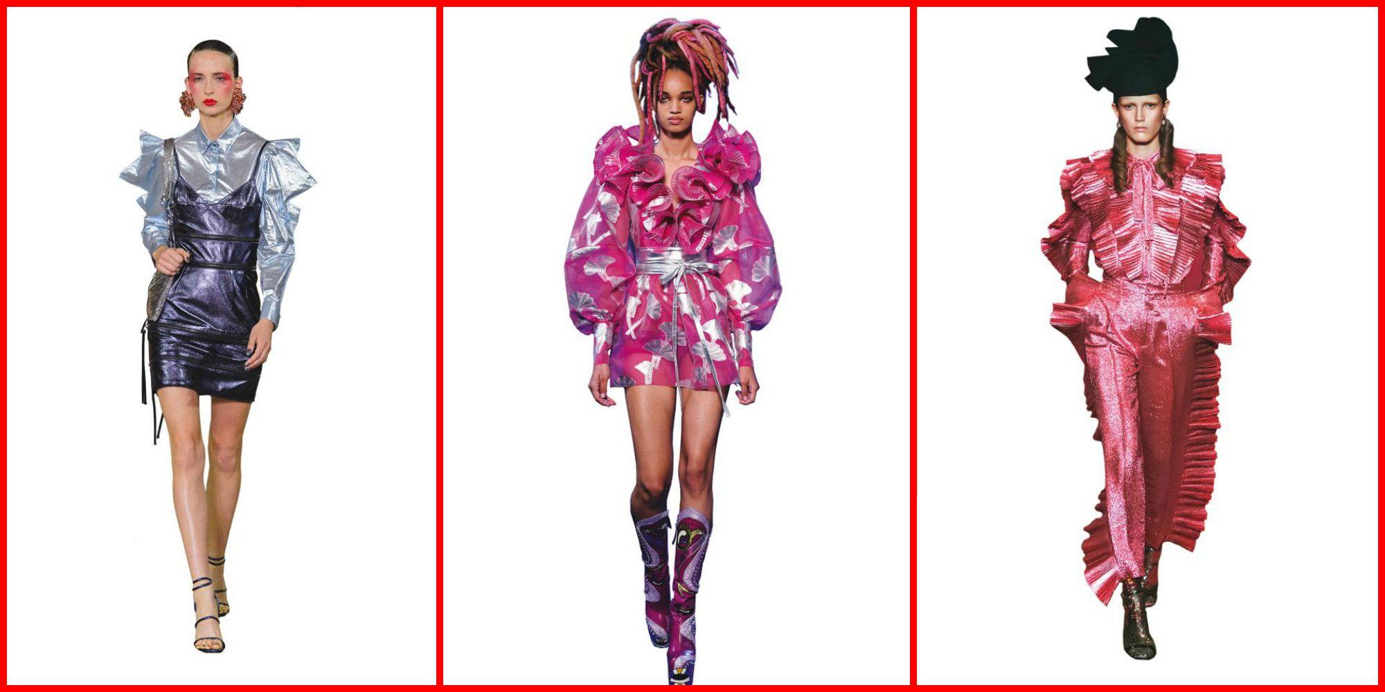 Abbigliamento Da Sera Anni 80.Look Anni 80 23 Outfit Glam Dalle Sfilate Per La Primavera Estate