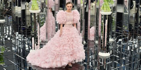 Lily-Rose Depp Chanel couture