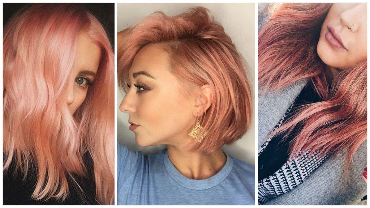 Colore capelli biondo arancione