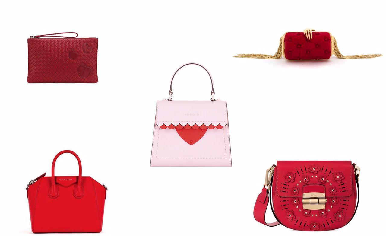 066cda43e7 Borse in rosso da regalare a San Valentino