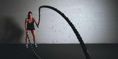 salto con la corda schema allenamento dimagrante