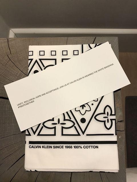 Calvin Klein by Raf Simons bandana