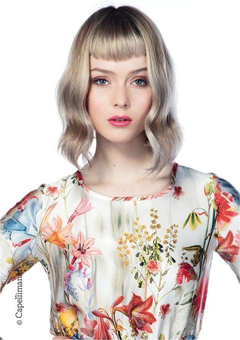 """<p>          Dritta e corta: è la frangia dell'hairstylist Salvo Filetti per la Compagnia della Bellezza.  <span class=""""redactor-invisible-space""""></span></p>"""