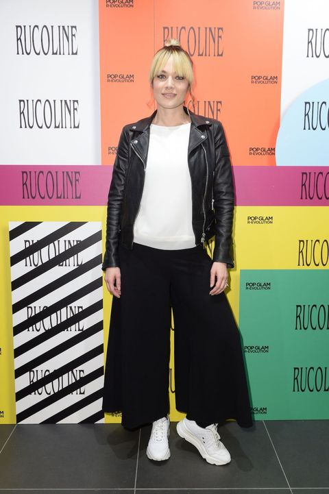 Laura Chiatti all'opening del  flagship store RUCO LINE