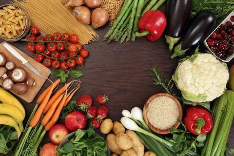 Food, Vegan nutrition, Produce, Local food, Whole food, Natural foods, Food group, Root vegetable, Ingredient, Vegetable,