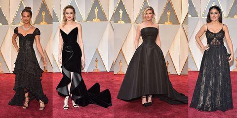 6e81845a0d7b I colori di moda sul red carpet degli Oscar 2017  dai look color oro ...