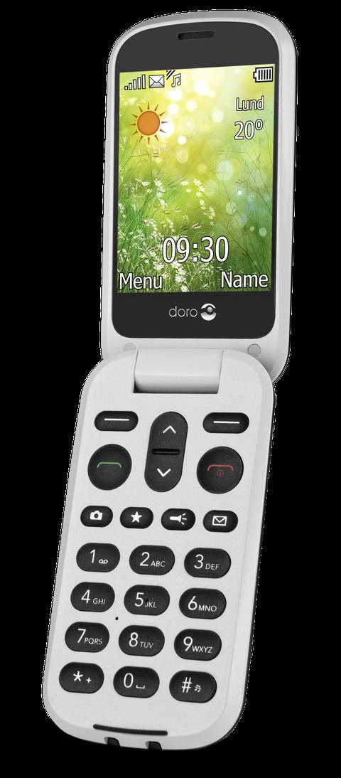 """<p>Il nuovo feature phone di <strong data-redactor-tag=""""strong"""" data-verified=""""redactor"""">Doro</strong> con chiusura a conchiglia, ampio display, fotocamera da 3MP e un'interfaccia unica, caratterizzata da 3 icone """"Visualizza"""" """"Chiama"""" """"Invia"""", per accedere a tutte le funzionalità del telefono con un solo click. Grazie al secondo display esterno, il numero del chiamante apparirà e l'utente potrà scegliere se rispondere o meno.&nbsp;</p><p>Il telefono è completamente gestibile da remoto da parenti e amici autorizzati, che potranno inserirgli i contatti in rubrica, aumentare o diminuire volume e luminosità e geolocalizzare l'utente ovunque si trovi. Doro 6050 è dotato di una funzionalità che consente il blocco delle fastidiose e soprattutto pericolose chiamate da parte dei call center. Prezzo: 84,90€.<span class=""""redactor-invisible-space""""></span></p>"""