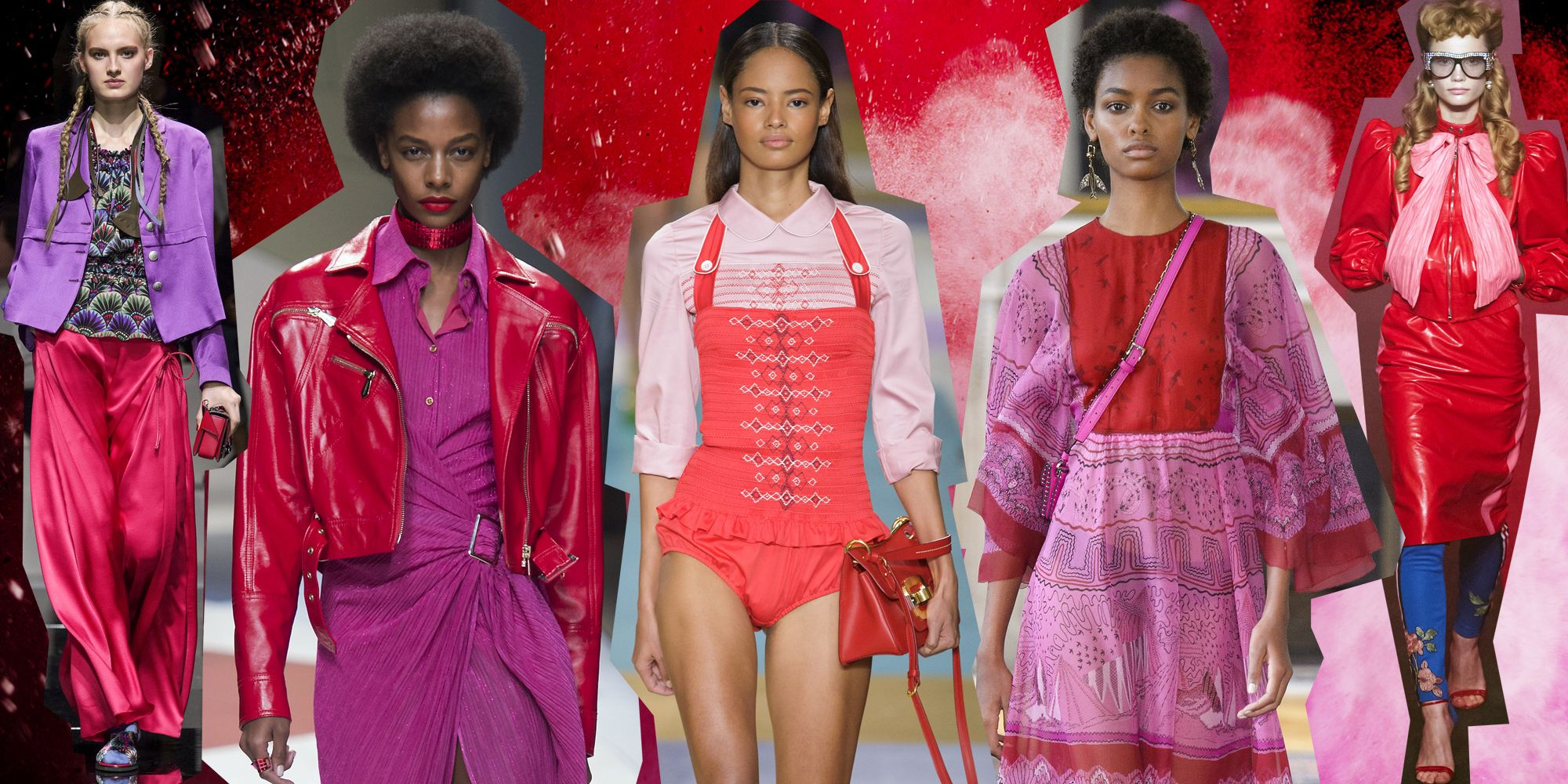 Come abbinare il rosso con il rosa secondo le tendenze moda 2017 4922317967f