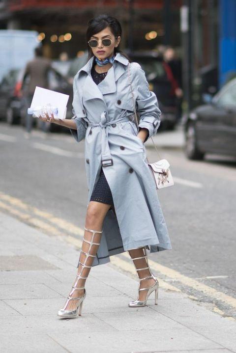 trench moda primavera 2017 come si porta street style