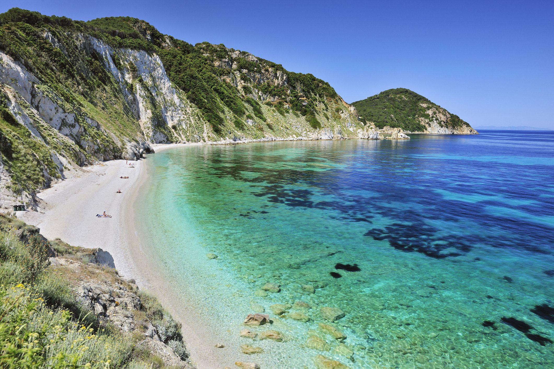 Cartina Elba Spiagge.Le 10 Spiagge Dell Isola D Elba Piu Belle