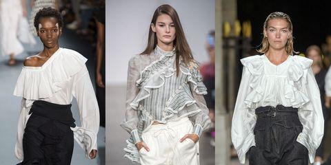 08f88152fe8603 Le camicie con i volant da comprare subito sono la tendenza moda ...