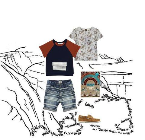 Clothing, Illustration, Cartoon, T-shirt, Fashion illustration, Sleeve,