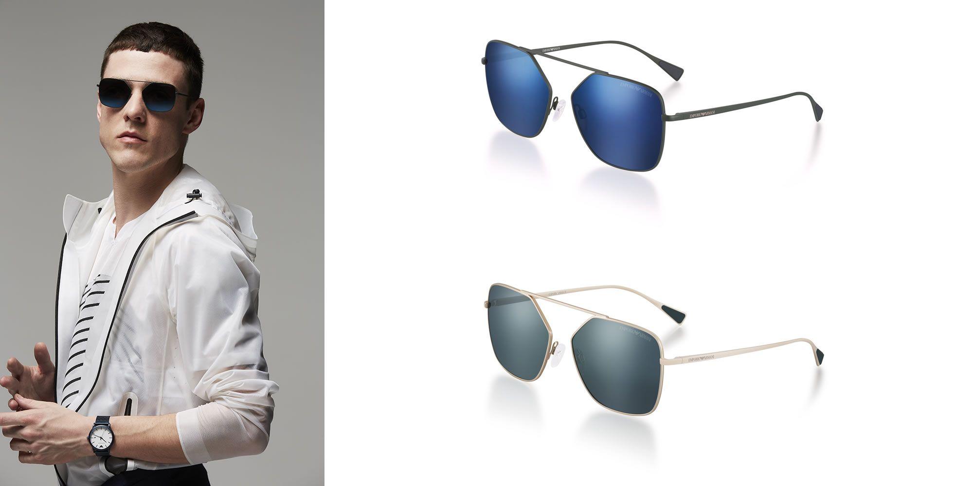 occhiali da sole e occhiali da vista emporio armani collezione primavera estate 2017