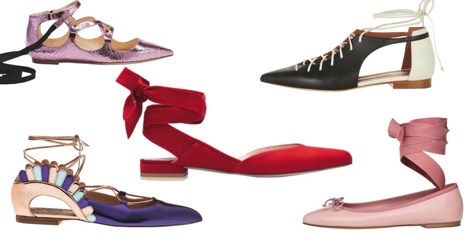 Ballerine Stringate: 18 Modelli Moda Primavera Estate 2017