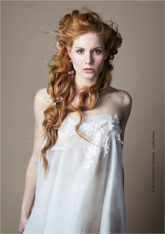 Acconciature da sposa capelli mossi