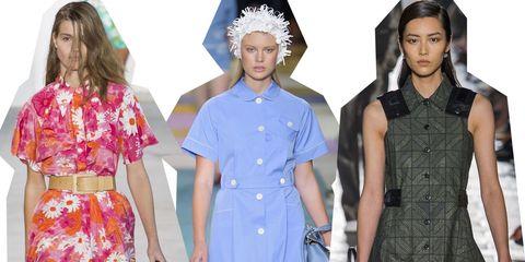moda estate 2'17: i vestiti scamiciati