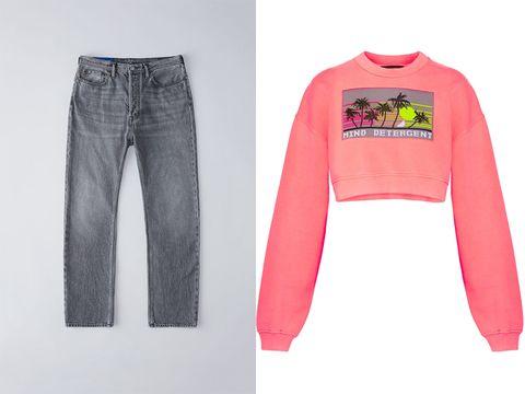 come abbinare i jeans a vita alta