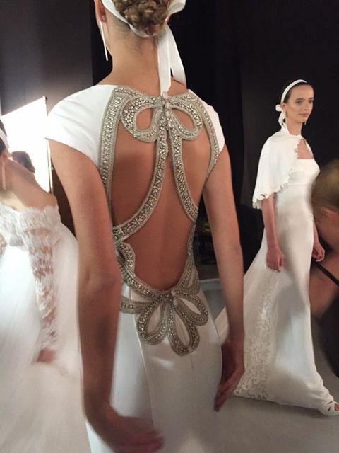 Hairstyle, Shoulder, Bridal accessory, Dress, Wedding dress, Headgear, Fashion, Bridal clothing, Embellishment, Gown,
