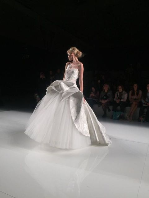 Gown, Wedding dress, Dress, Fashion model, Clothing, Fashion, Bridal clothing, Haute couture, Bride, Bridal party dress,