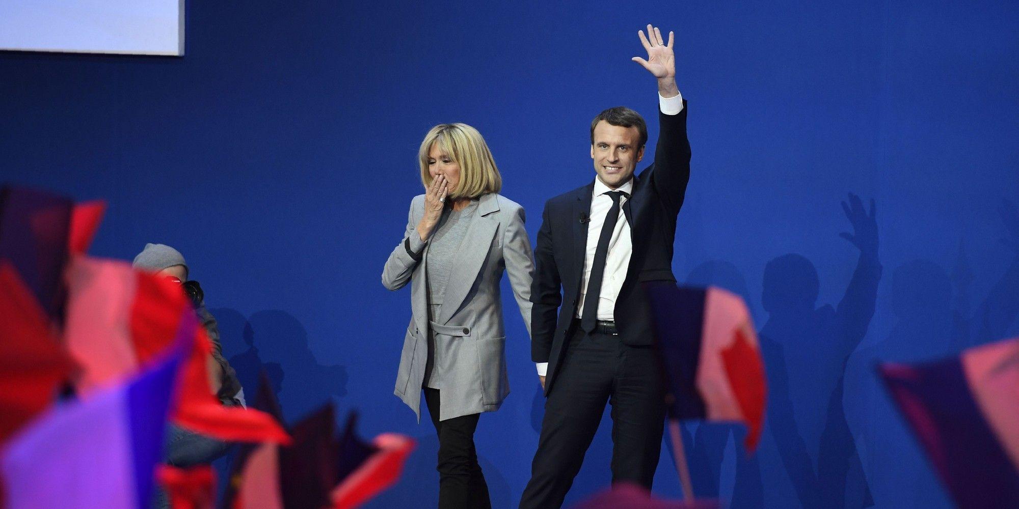 Lo stile di Brigitte Macron