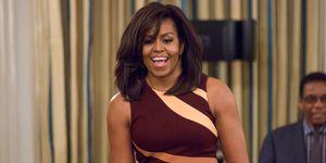 Il look di Michelle Obama in vacanza in Italia