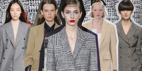 7359cfe26232 Look di moda autunno-inverno 2017-2018: il tailleur pantalone da ...