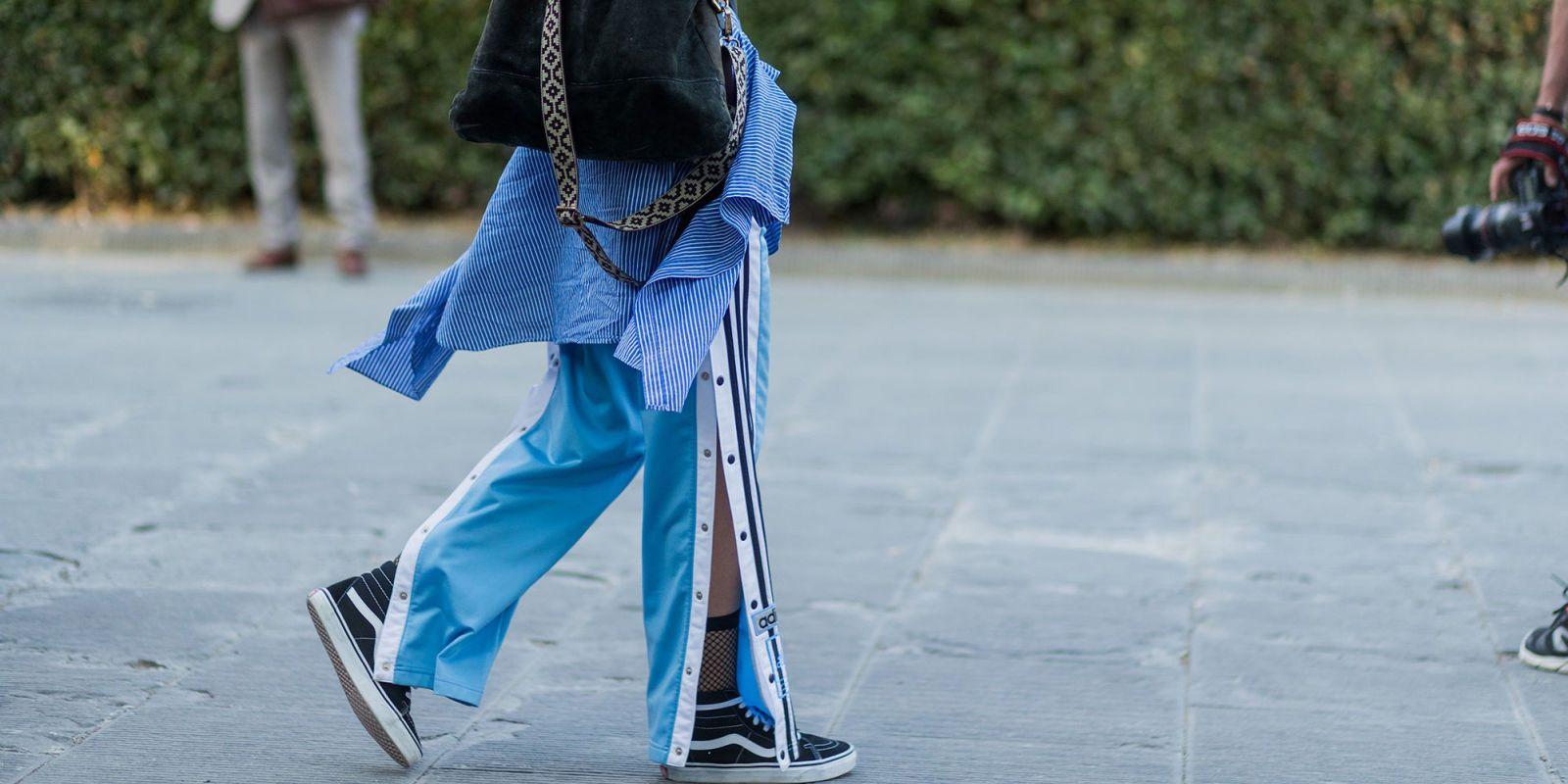 pantaloni tuta adidas uomo bottoni laterali