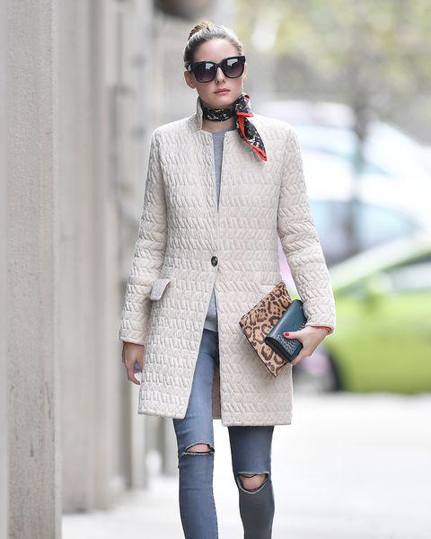 competitive price 16084 0d793 Olivia Palermo indossa il cappotto perfetto per l'autunno ...
