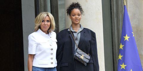 Brigitte Macron e Rihanna