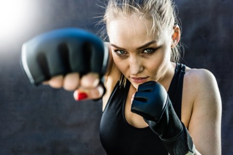 Boxing glove, Boxing, Boxing equipment, Photography, Contact sport, Striking combat sports, Ear, Photo shoot, Flash photography, Kickboxing,