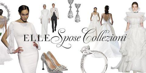 1a7426c885f9 Sfilate  guarda tutti gli abiti da copertina del nuovo Elle Spose ...