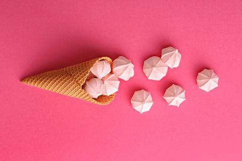 Pink, Origami, Paper, Heart, Petal, Origami paper, Art paper, Cuisine,