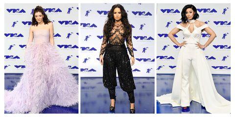 Fashion model, Clothing, Dress, Fashion, Cobalt blue, Purple, Electric blue, Haute couture, Shoulder, Fashion design,