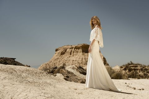 Photograph, Gown, Dress, Wedding dress, Clothing, Bridal clothing, Bride, Beauty, Fashion, Landscape,