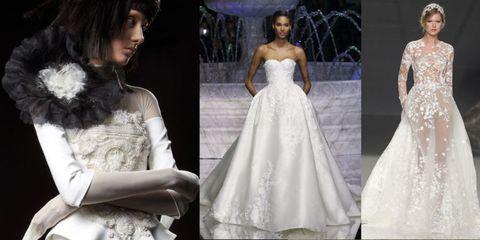Hanno preso coraggio sulle passerelle dell haute couture e della sposa dove  hanno decorato vistosamente teste e ... af1c423ef92